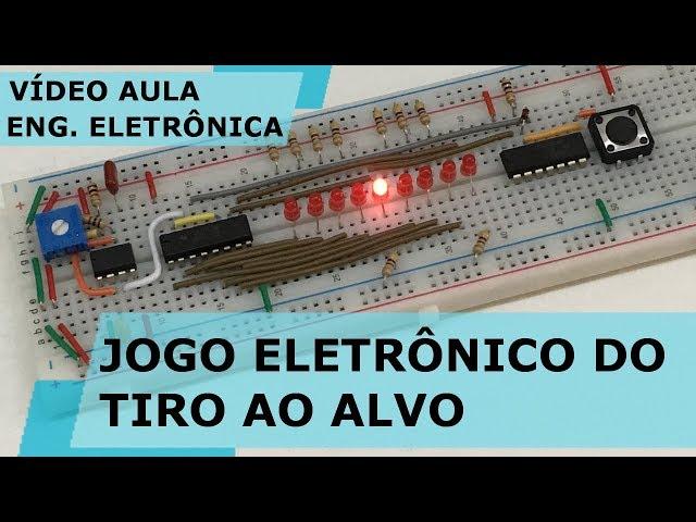 JOGO ELETRÔNICO DO TIRO AO ALVO | Vídeo Aula #207