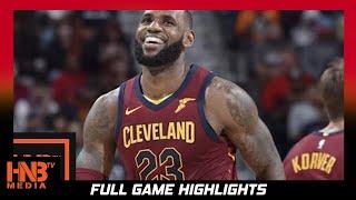 Cleveland Cavaliers vs New Orleans Pelicans Full Game Highlights / Week 2 / 2017 NBA Season