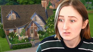 I used a randomizer to build a house in The Sims 4