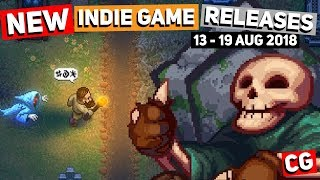 12 Upcoming Indie Game New Releases of the Week: 13th -19th August 2018