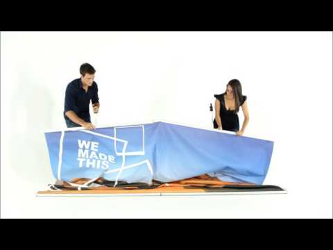 ExpandaBrand Banner Stand Media Walls How to set up and dismantle your Media Wall