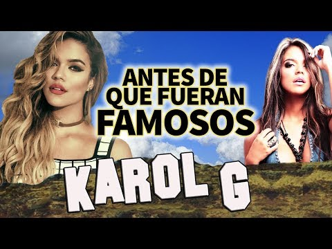 KAROL G - Antes De Que Fueran Famosos - AHORA ME LLAMA -  trap latino 2017