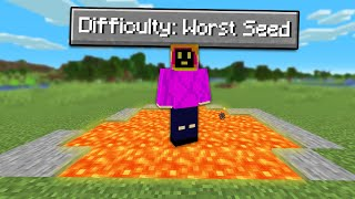 Can You Beat Minecraft Hardcore On The Hardest Seed?