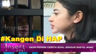 KANGEN Di HAP HAP Bang IPUl, DEWI PERSIK JENGUK SAIPUL JAMIL ~ Gosip Terbaru 11 September 2016