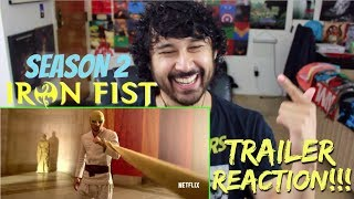 Marvel's IRON FIST: SEASON 2 | Official TRAILER - REACTION!!!