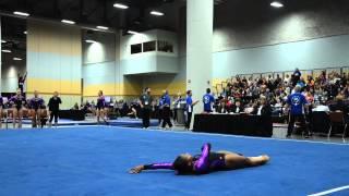Kyla Bryant - Floor Exercise - 2015 Women's Junior Olympic Championships
