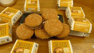 McDonald's - The Royal Army (8x Quarter Pounder Cheese / Hamburger Royal Käse)