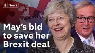 Juncker says EU will not renegotiate Brexit deal