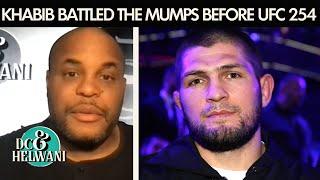 Khabib Nurmagomedov battled the mumps ahead of UFC 254 | DC & Helwani | ESPN MMA