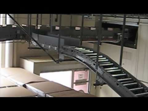 Aloi Materials Handling Conveyor and Stretch Wrapper Installation
