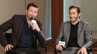 Interview: Hugh Jackman And Jake HD