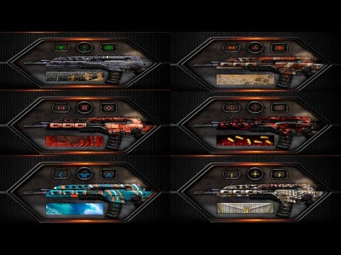 "Black Ops 2 ""NEW CAMOS"" - ""Pack-A-Punch"", Rogue, Aqua & More! (BO2 New Camo Gameplay) - Smashpipe Games"