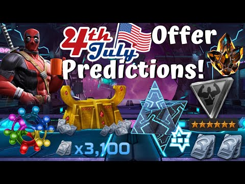 July 4th Weekend Offers Predictions! Odin! 15k Unit Bundle! - Marvel Contest of Champions