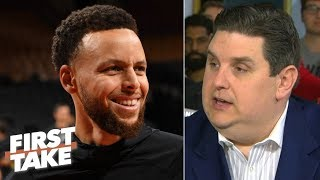 The Warriors will go as far as Steph Curry takes them vs. the Raptors - Brian Windhorst | First Take