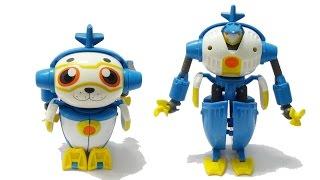 Robot siêu nhân biến hình Hải cẩu quý tộc - Robot sấm sét