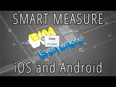 Smart Measure on iOS - Available now in the BIMx PRO 2016 release