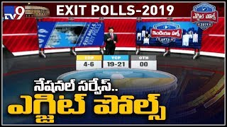 Exit Poll results 2019 AP: Verdict split between YSRCP and..
