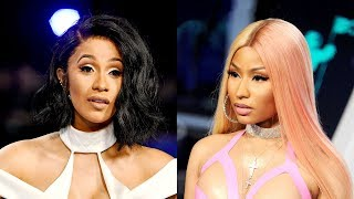"Nicki Minaj REACTS to Cardi B ""Bodak Yellow"" Hitting Number 1"