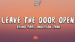 Bruno Mars, Anderson .Paak - Leave The Door Open (Lyrics)