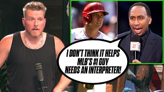 Pat McAfee Reacts: Stephen A Smith Gets RIPPED Over Shohei Ohtani Comments