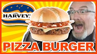 Harvey's Pizza Burger Review