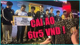 Tik Vlog Thái Lan #3 : Khoảnh Khắc team RM5S lọt vào top 3 , Cái áo Trị giá 9000 Bath = 6tr4 VNĐ !!