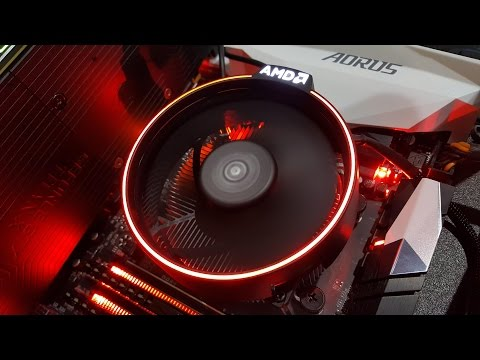 video Amd Ryzen 7 1700