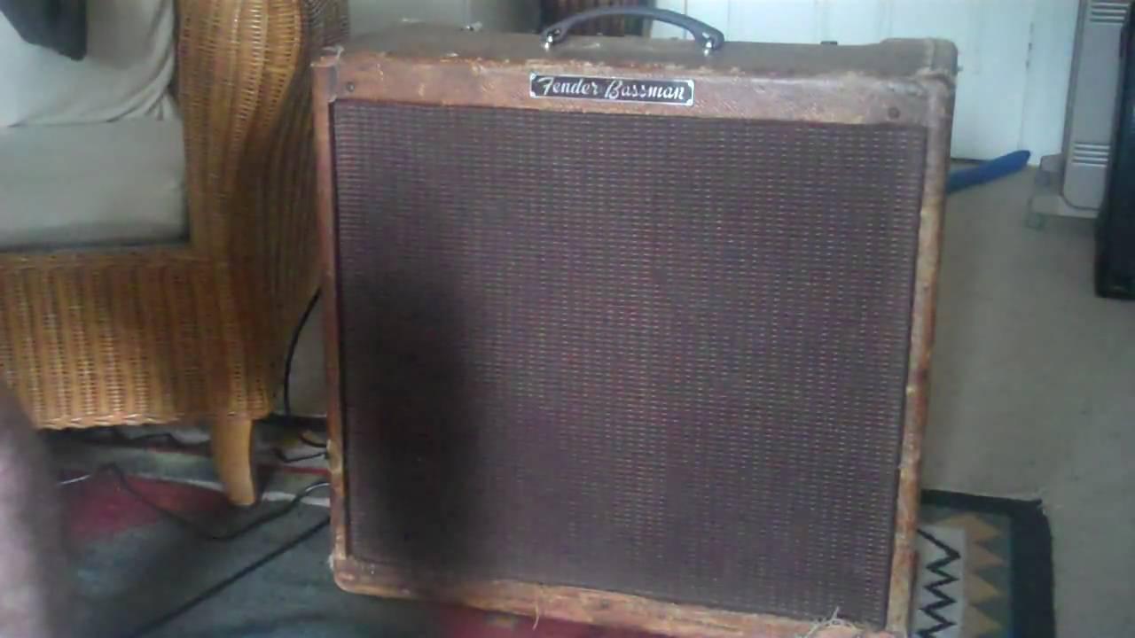 original 39 59 fender bassman amp youtube. Black Bedroom Furniture Sets. Home Design Ideas