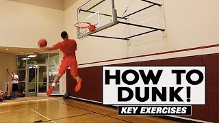 How To Dunk | Key Exercises | The Lost Breed