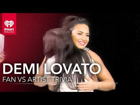 Demi Lovato Duels Fan in Demi Trivia | Fan Vs. Artist