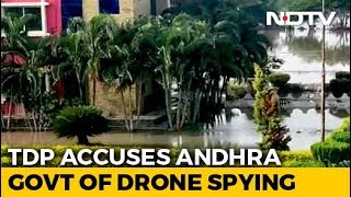 Use Of Drone Cameras Around Chandrababu's Home Sparks Poli..