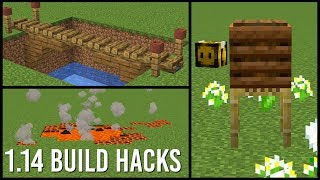 1.14 Minecraft Build Hacks