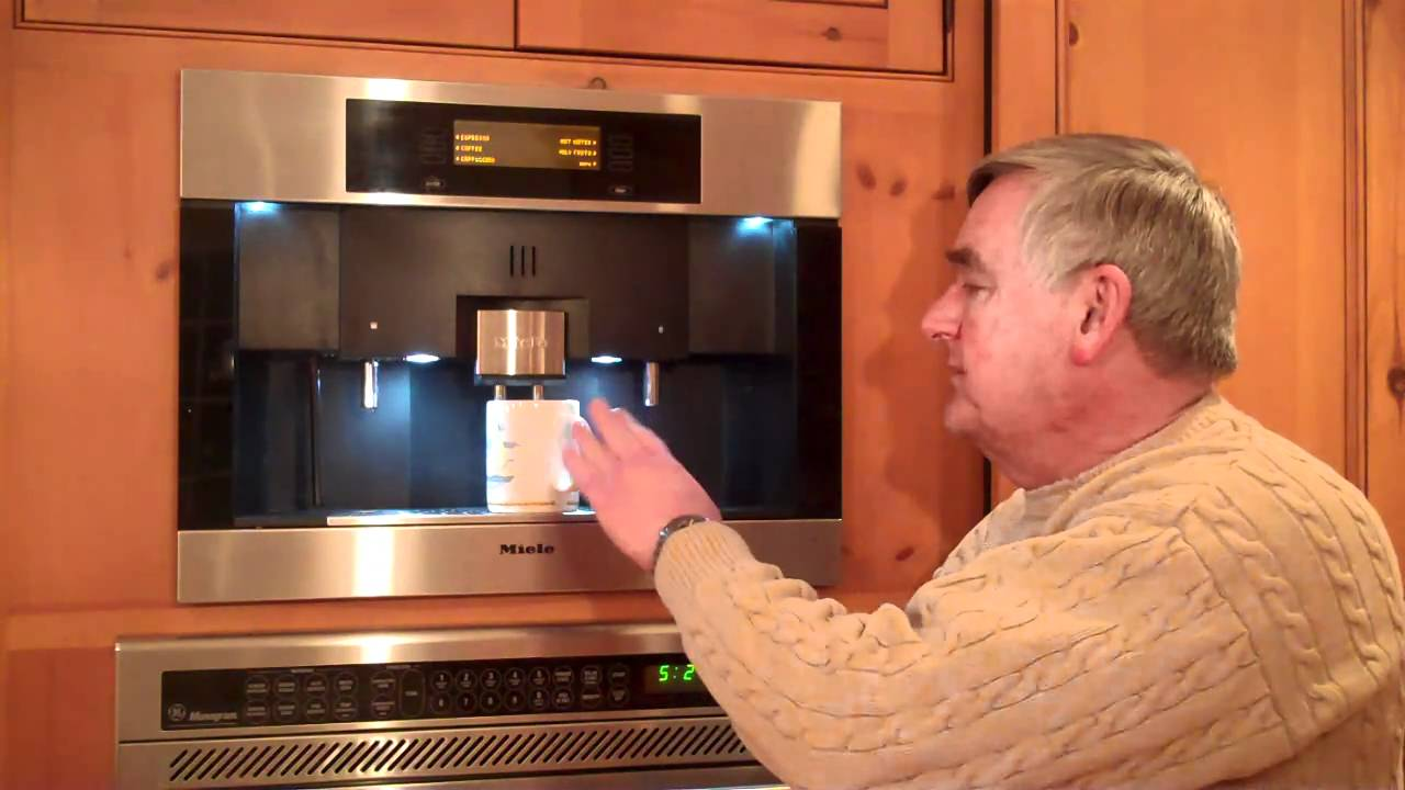Nantucket Homes Built In Coffee Maker And Espresso