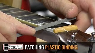 Watch the Trade Secrets Video, Easy binding repair on a Martin D-35