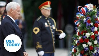 'Every day is Memorial Day:' Pence remembers the fallen | USA TODAY