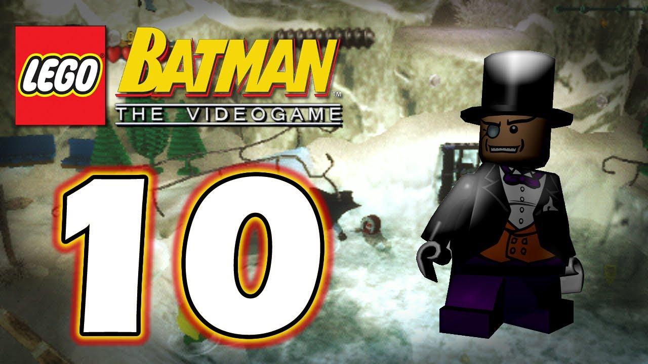 LEGO Batman PSP - #10. | Penguin's Lair - YouTube