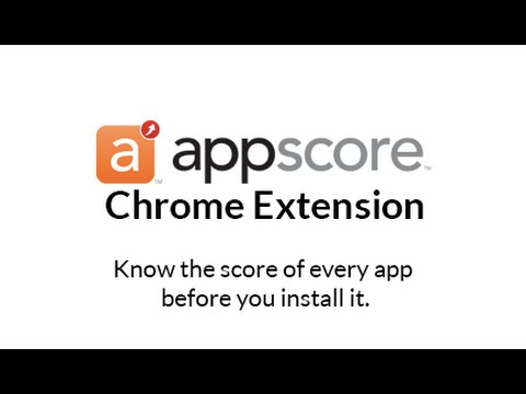 appscore for Chrome Extension - How to Install