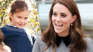 Aww! Kate 'imitated' Princess Charlotte's cute habit during her visit to Foundling Museum