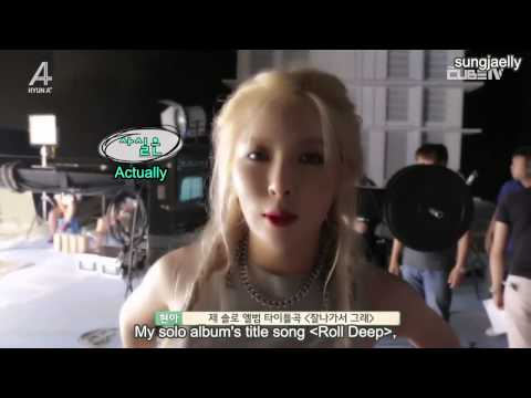 [ENG SUB] 150825 Hyuna Feat Ilhoon of BTOB Roll Deep MV BTS