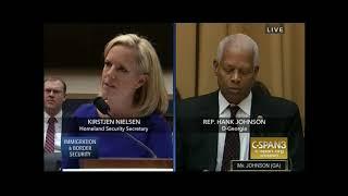 Congressman Johnson Questions Secretary of Homeland Security Nielsen
