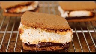Homemade S'mores (How to make Graham Crackers & Marshmallows) - Gemma's Bigger Bolder Baking Ep. 16