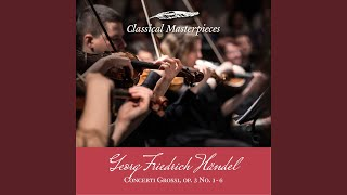 Concerti Grossi op.3, Concerto no.2 in B flat Major HWV313:Minuet