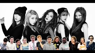 Classical Musicians React: 4MINUTE 'Hate' vs 'Crazy'