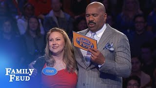Jenny and Stephy makin' MONEY!!! | Family Feud