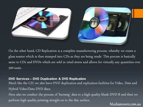 CD and DVD duplication in Australia – The Insight!