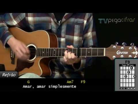 Baixar Paula Fernandes - Um Ser Amor (Aula de violão) TV Pegacifras