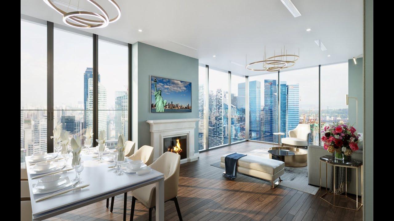 Căn hộ 2PN + 1 - 87m2 giá 3,5 tỷ tầng đẹp nhất kèm siêu ưu đãi Tháng 6 - The Nine Quận Cầu Giấy video