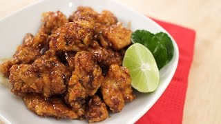 Hot Thai Chicken! - Fried Chicken in Sweet Chili Lime Sauce Recipe