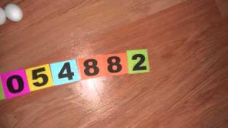 PI(e) DIGITS to 800 (stop motion)