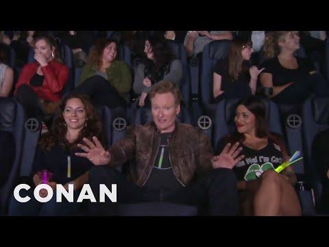 Conan Crashes A